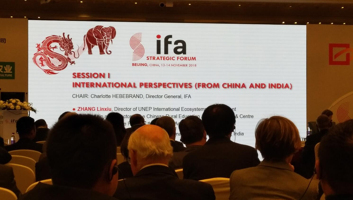 Attened in the 2018 IFA meeting